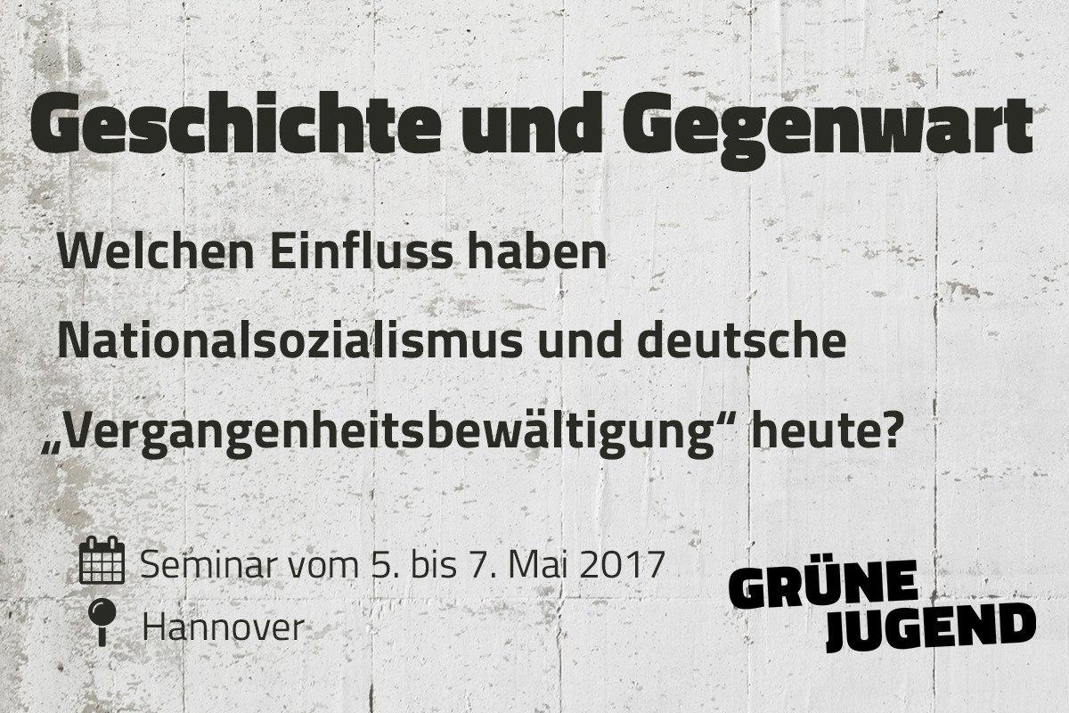 Gedenkseminar: Geschichte und Gegenwart in Hannover